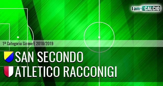 San Secondo - Atletico Racconigi