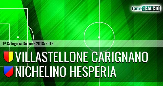 Villastellone Carignano - Nichelino Hesperia
