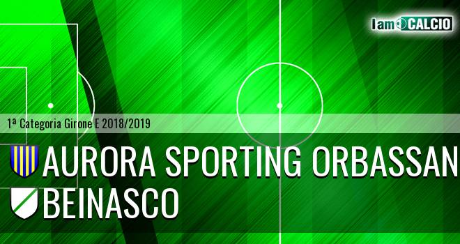 Aurora Sporting Orbassano - Beinasco