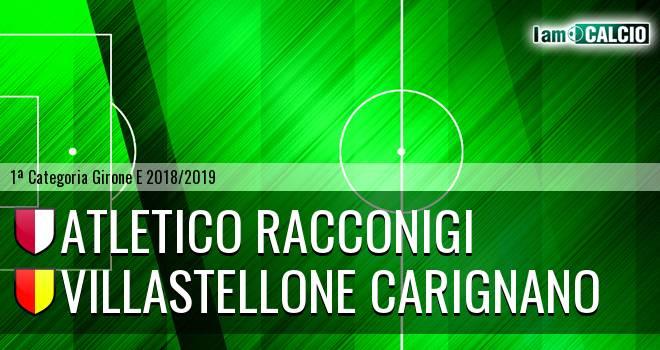 Atletico Racconigi - Villastellone Carignano