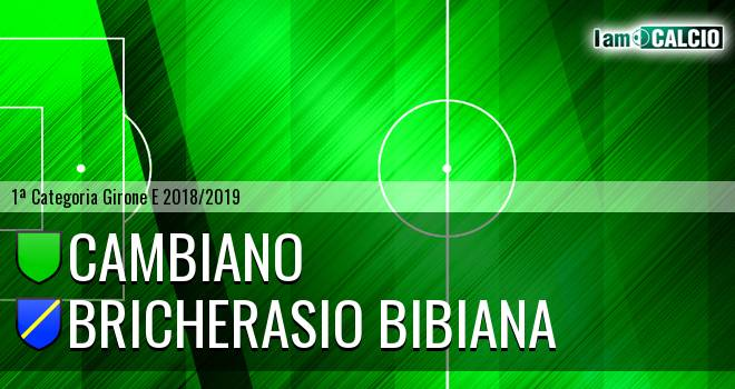 Cambiano - Bricherasio Bibiana