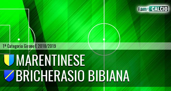 Marentinese - Bricherasio Bibiana