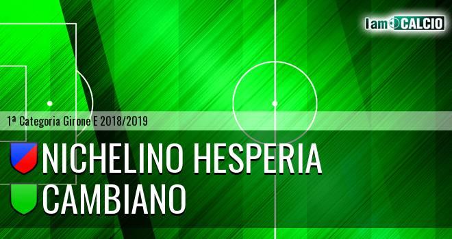Nichelino Hesperia - Cambiano