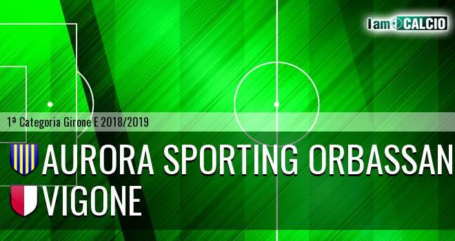 Aurora Sporting Orbassano - Vigone
