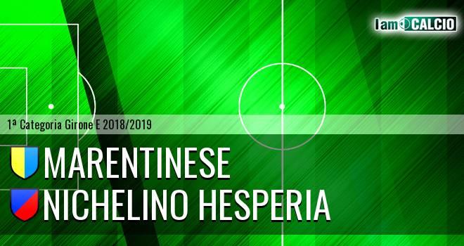 Marentinese - Nichelino Hesperia