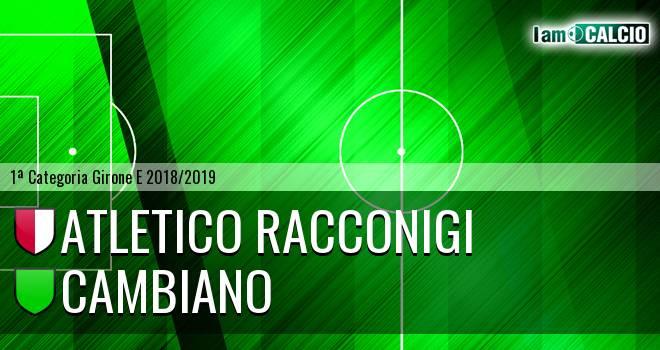 Atletico Racconigi - Cambiano