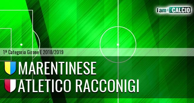 Marentinese - Atletico Racconigi