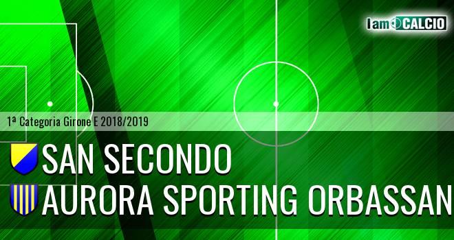 San Secondo - Aurora Sporting Orbassano