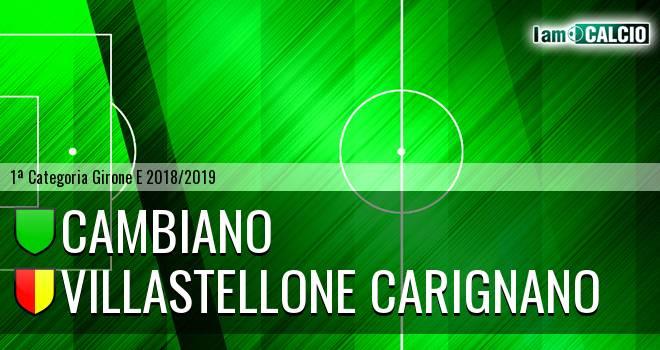 Cambiano - Villastellone Carignano