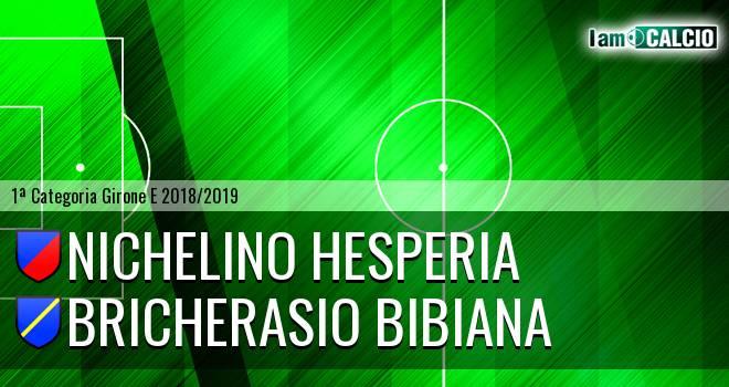 Nichelino Hesperia - Bricherasio Bibiana