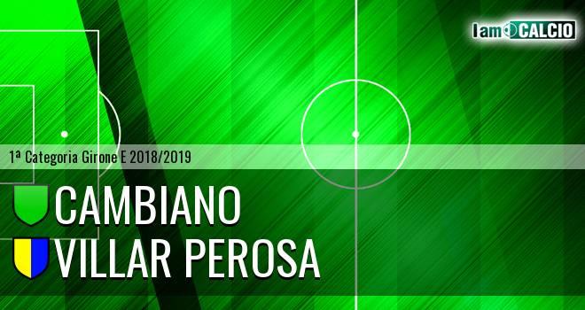 Cambiano - Villar Perosa