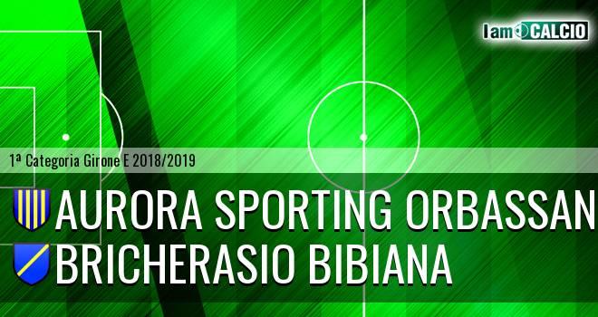 Aurora Sporting Orbassano - Bricherasio Bibiana