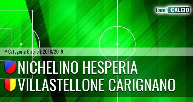 Nichelino Hesperia - Villastellone Carignano