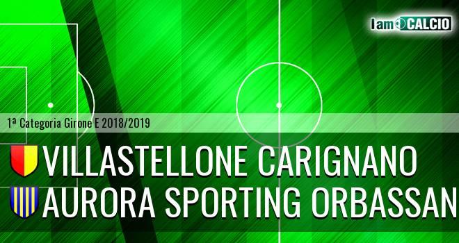 Villastellone Carignano - Aurora Sporting Orbassano