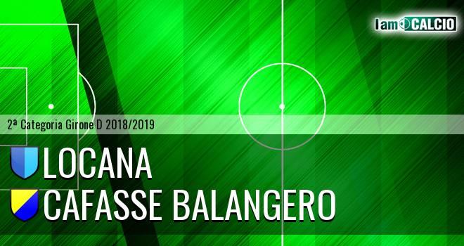Locana - Cafasse Balangero