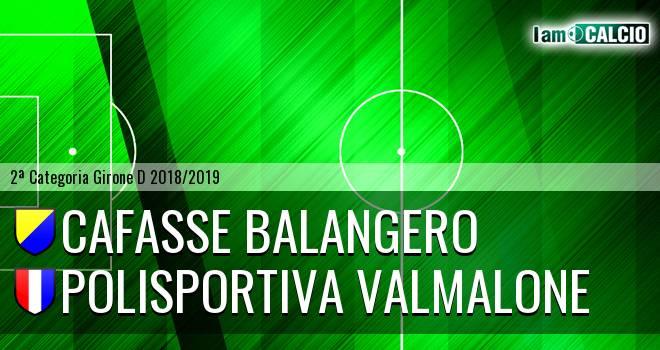 Cafasse Balangero - Polisportiva Valmalone