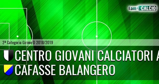 Centro Giovani Calciatori Aosta - Cafasse Balangero