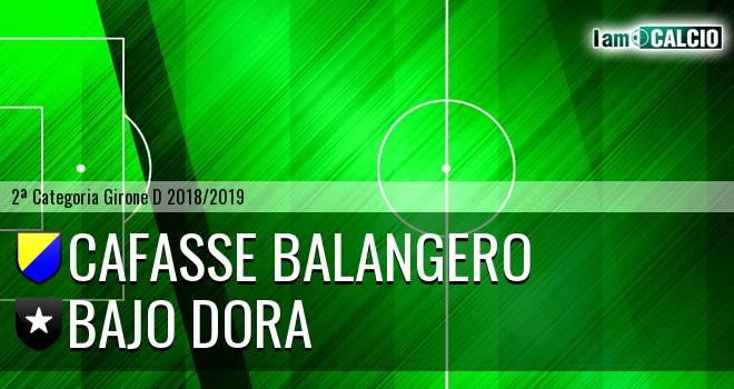 Cafasse Balangero - Bajo Dora