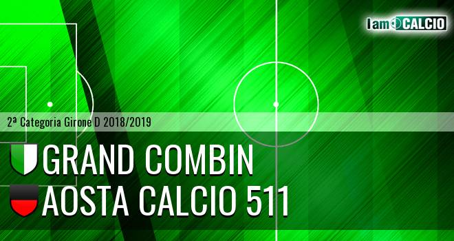 Grand Combin - Aosta Calcio 511