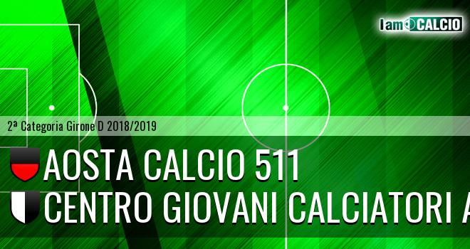 Aosta Calcio 511 - Centro Giovani Calciatori Aosta