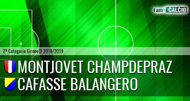 Montjovet Champdepraz - Cafasse Balangero