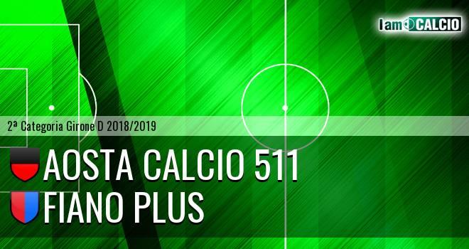 Aosta Calcio 511 - Fiano Plus