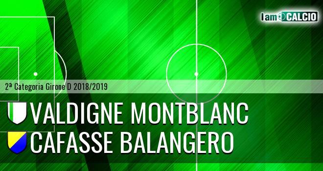 Valdigne Montblanc - Cafasse Balangero
