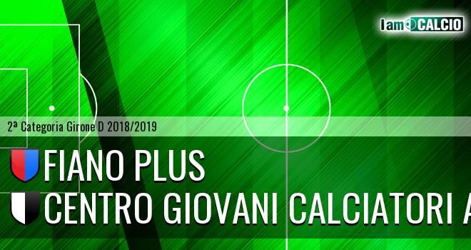 Fiano Plus - Centro Giovani Calciatori Aosta