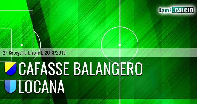 Cafasse Balangero - Locana