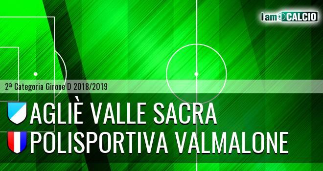 Agliè Valle Sacra - Polisportiva Valmalone