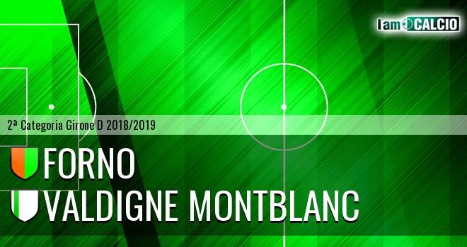 Forno - Valdigne Montblanc