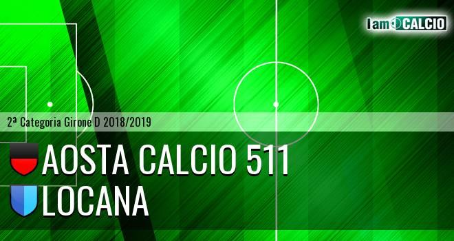 Aosta Calcio 511 - Locana