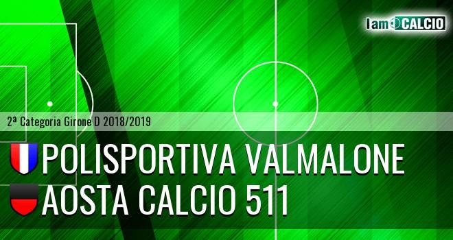 Polisportiva Valmalone - Aosta Calcio 511