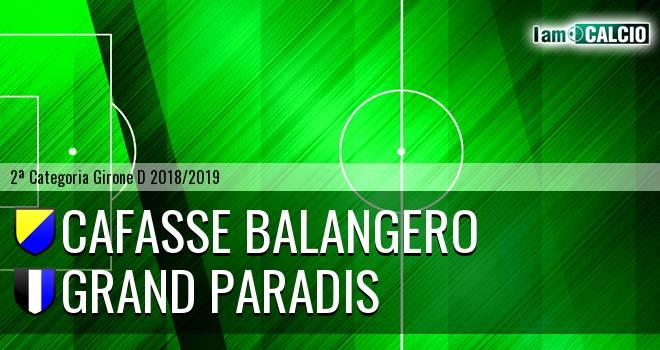Cafasse Balangero - Grand Paradis