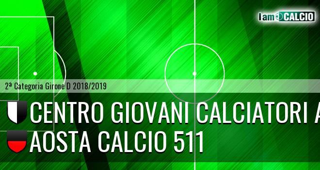 Centro Giovani Calciatori Aosta - Aosta Calcio 511
