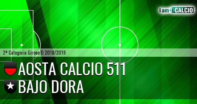 Aosta Calcio 511 - Bajo Dora