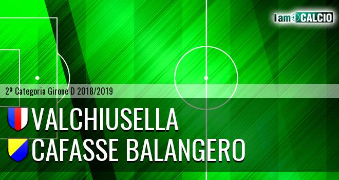 Valchiusella - Cafasse Balangero