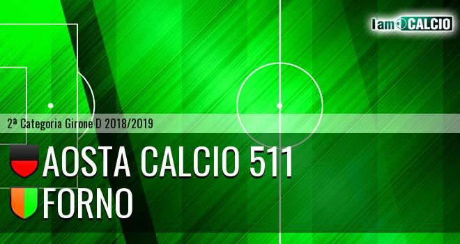 Aosta Calcio 511 - Forno