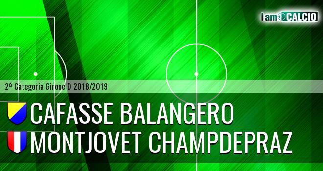 Cafasse Balangero - Montjovet Champdepraz