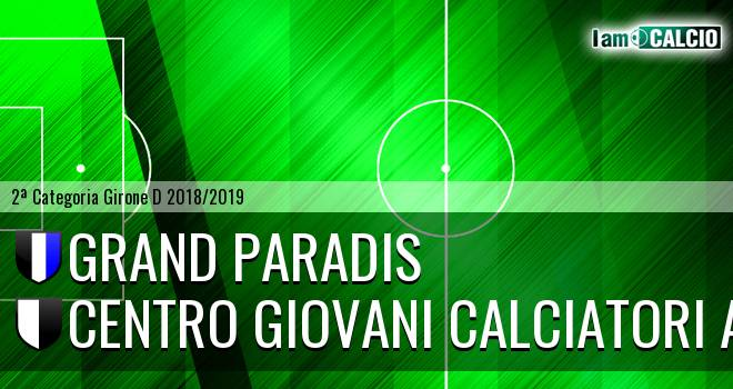 Grand Paradis - Centro Giovani Calciatori Aosta