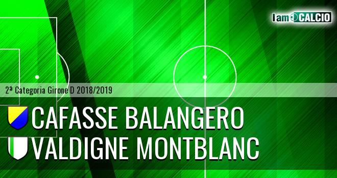 Cafasse Balangero - Valdigne Montblanc