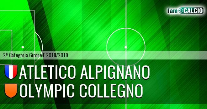 Atletico Alpignano - Olympic Collegno