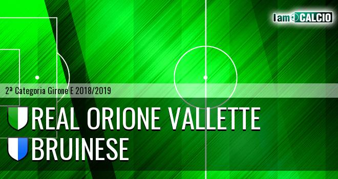Real Orione Vallette - Bruinese