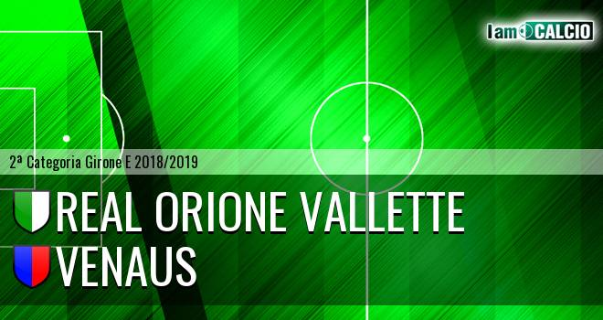 Real Orione Vallette - Venaus