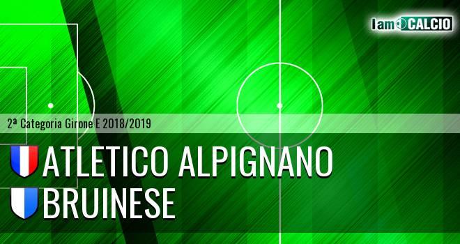 Atletico Alpignano - Bruinese