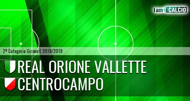 Real Orione Vallette - Centrocampo