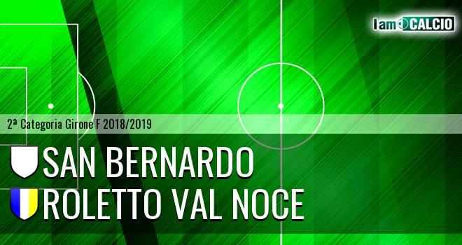 San Bernardo - Roletto Val Noce