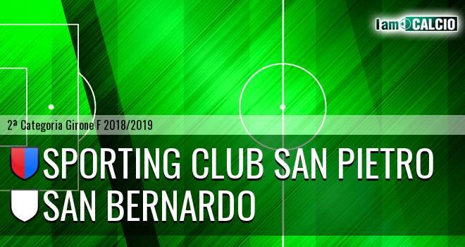 Sporting Club San Pietro - San Bernardo