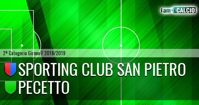 Sporting Club San Pietro - Pecetto