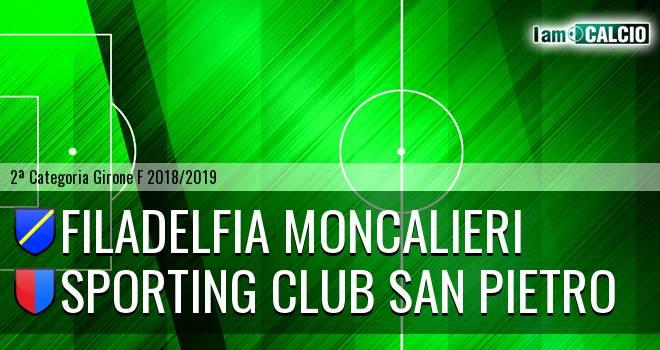 Filadelfia Moncalieri - Sporting Club San Pietro